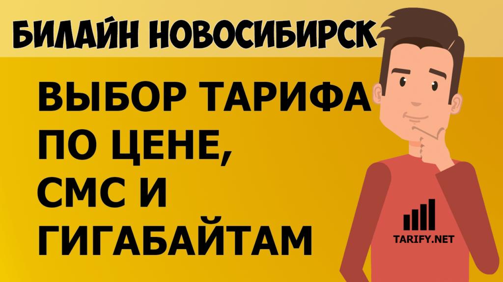 тарифные планы для города Новосибирск от билайн